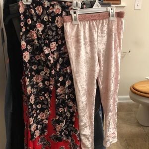 Girls size 8(m) bundle of 2-pair NWOT leggings